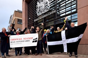 Community Against Dean Super Quarry campaigners. By Alison McGregor